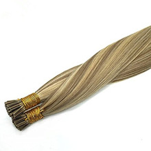 Highlighted Blonde 18/613 Ombre Hair Extension I Tip 50 Strands 1g/s 50gram 18inch Blonde Fusion Hair Extensions