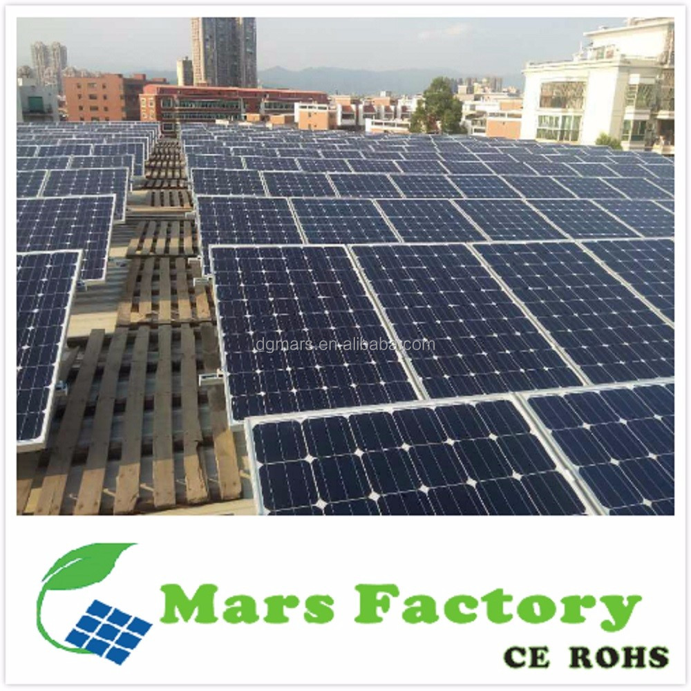 Hot Solar Energy Systems off grid 2 kw / China Factory Supplies 2000 w / electric solar panels