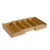 Bamboo Cutlery Tray Kitchen Flatware Holder Drawer Organizer 6 Compartments
