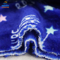 Manufacturer high woven flannel coral soft fleece fabric for making clothes
