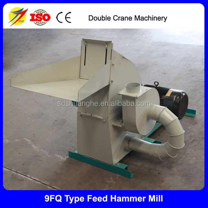 Corn hull crusher machine, Poultry Feed hammer mill
