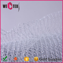 Wedding hair accessories soft veil netting with high quality