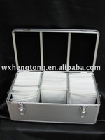 Aluminum CD/DVD Storage Box 420 Disks