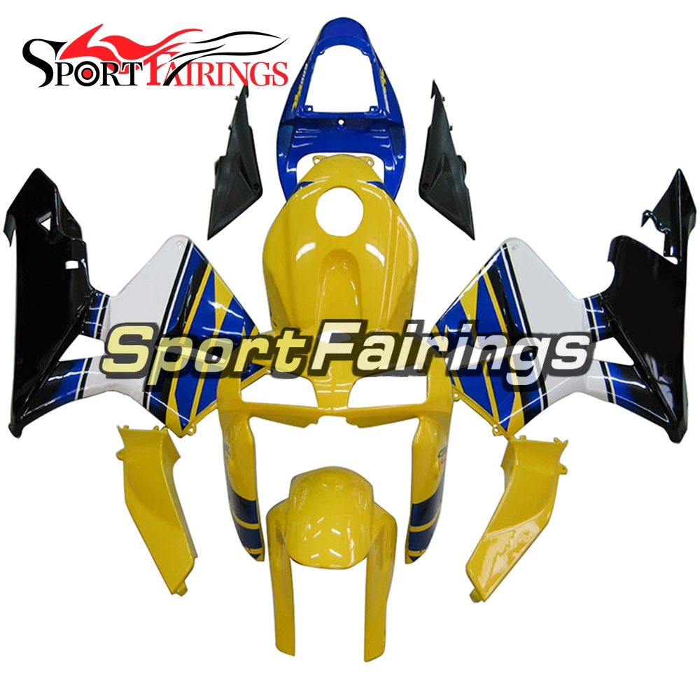 Yellow Blue White Full Cover Injection ABS Plastic Motorcycle Fairings For Honda CBR600RR F5 05 06 Year 2005 2006 Fairing Kits