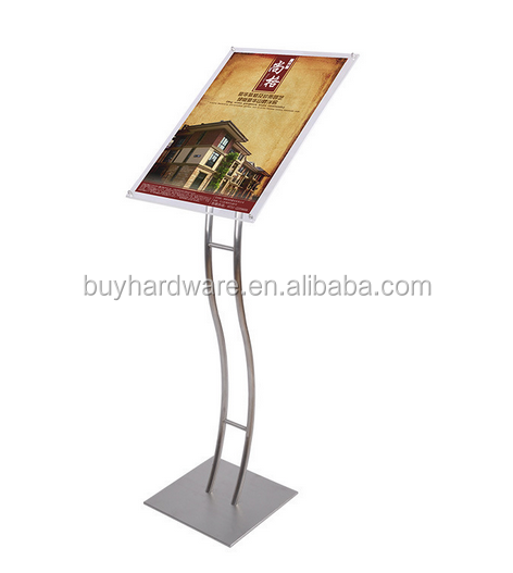 Stainless steel fashion advertising display stand