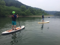 Green surfboards/inflatable sup stand up board paddle surfing boards,customized size & color