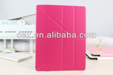 Transformer Style Case Magnetic Smart Cover Stand - Pink - For Your iPad 2 3 4