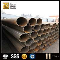 a106 q235b tianjin factory erw black steel pipe/tubes