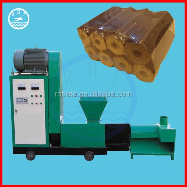 Straw Electric fire wood briquette making machine