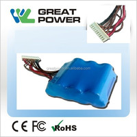 high capacity 2300mah 25.5v lir 18650 battery for massage armchair