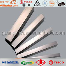 AISI 201 304 316 301 304L 316L square/rectangular welded stainless steel pipes for decoration of handrails/windows/doors