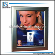 waterproof led snap aluminum frame light box for advertising display
