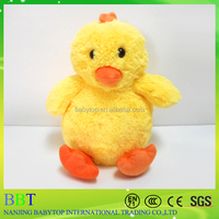 Top quality Natural bird toy soft yellow chicken plush toy for sale
