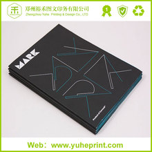 Professional China printing service,duable a5 glossy coated art paper glue binding cafe table photo book