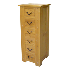 Classic vintage Old-fashioned Storage 6 chest of drawers cabinet wood furniture