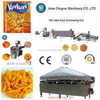snack food making machine/ potato fries production line