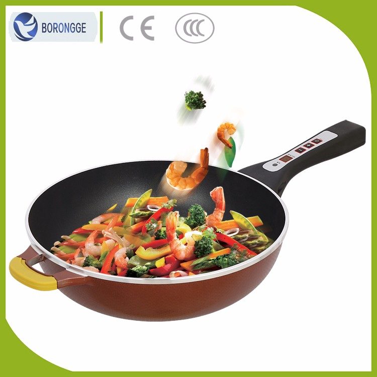 KW-402 New Item ECO-Friendly Automatic Korean Electric Frying Pan