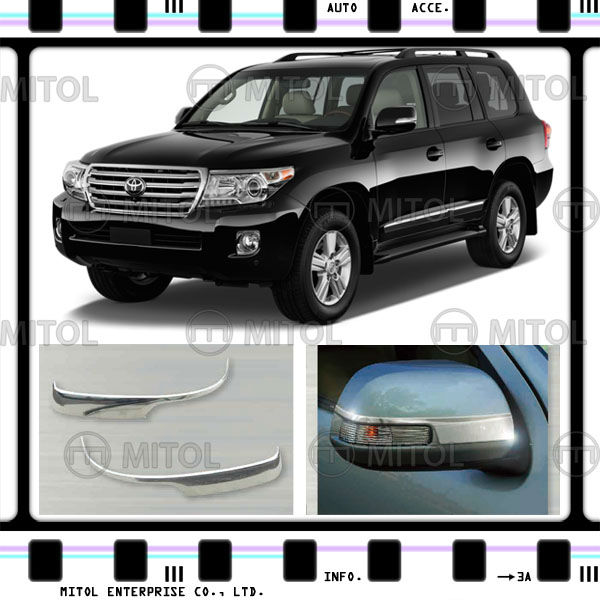 Car Side Mirror Cover For Toyota Land Cruiser LC200 12-on Door Mirror