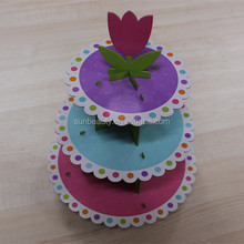 Birthday/party/wedding favor Paper cup cake stand