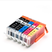 PGBK 22ML, BK/C/M/Y 11ML refill ink cartridge PGI 550 CLI 551 for MX925