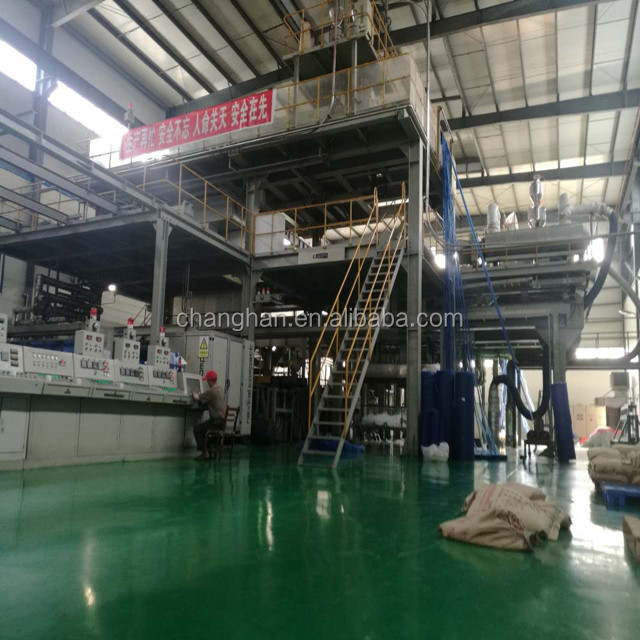smms 3200 pp four beams spunbond nonwoven fabric making machinery line manufacturer