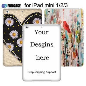 New Arrival Custom Tablet Case for ipad mini 1 2 3 Smart Custom Case Cover