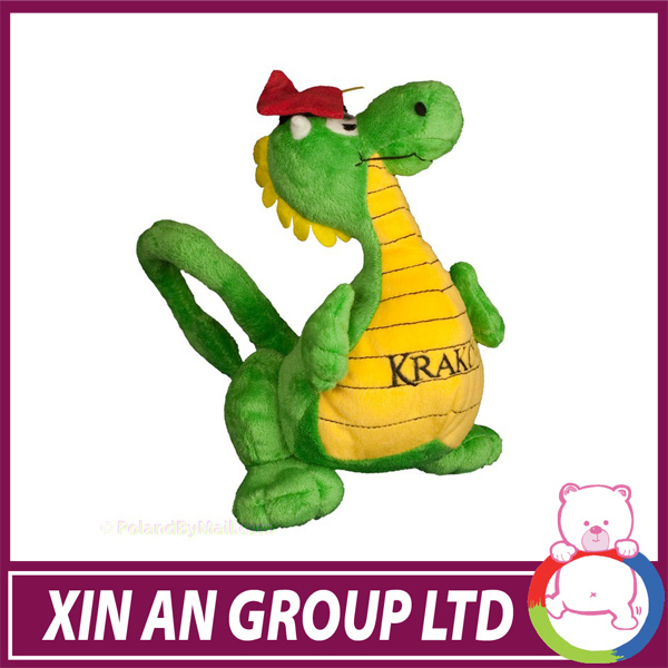 ASTM /EN71 Hot selling super stuffed embroidery dragon