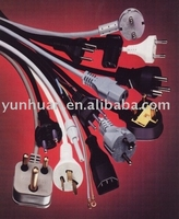 Extension cable electric wire Schuko plug Iec c14 to C5