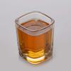 Best quality promotional square bottom round top passion shot glass