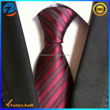 Newest Luxury Classic Stripe Grid Men Tie Neckties Hot Selling