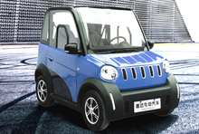 4 wheels 2 seat city chinese EEC approved electric automobile Car
