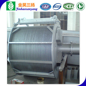 Rotary drum grid bar screen for waste water treatment/ rotating trommel bar screen