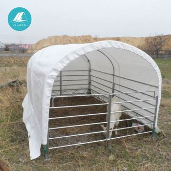 animal waterproof pvc horse shelter livestock equipment tent