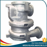 pump parts resin sand gray cast iron casting