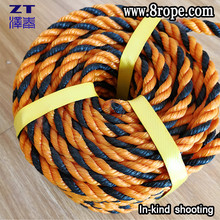 "5/8"" X 200' Twisted Poly Plastic Rope"