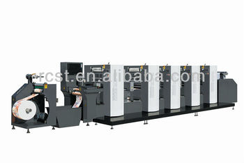 Intermittent Rotary Offset printing machine(Roll feeding )-WJPS-350D