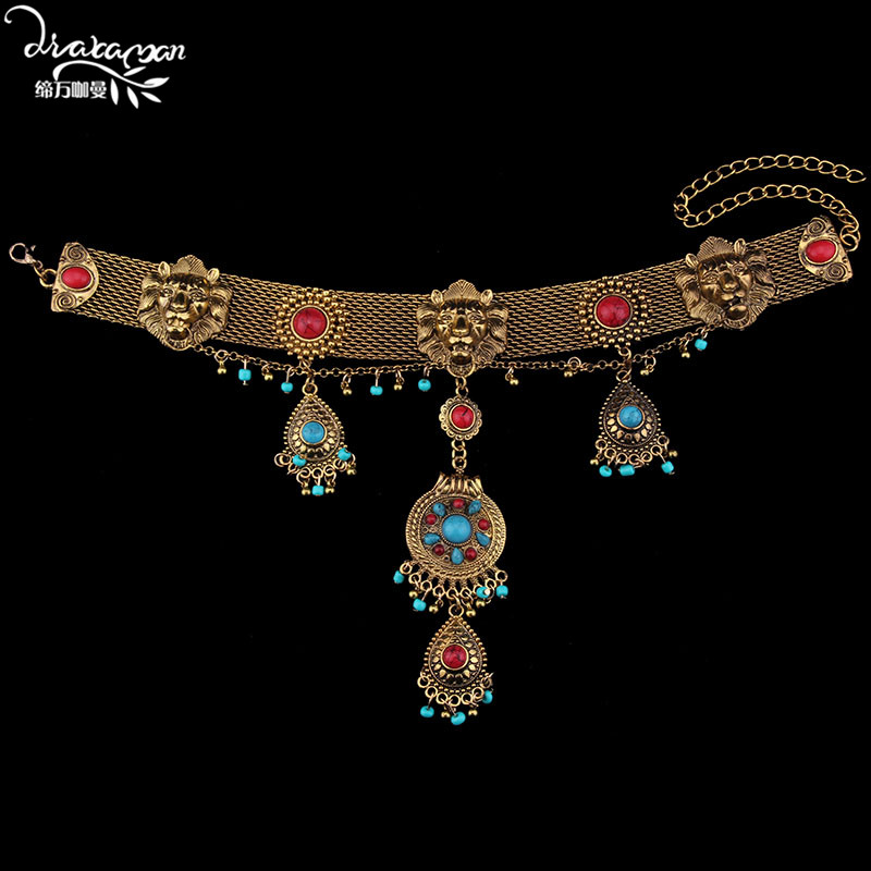 Dvacaman Brand 2017 Bohemian Style Maxi Statement Necklace Ethnic Gypsy Choker Collar Custom Party Jewelry Femme Bijoux Gift L61