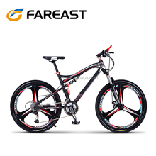 Mountain bike soft rear frame rear suspension comfort off-road bike 27 speed