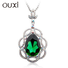 OUXI New arrival ladies fashion jewelry chain made with crystal 11039-1