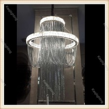 Luxury new crystal chandelier lamp modern pedant light fixture flush might chandelier for hotel and project