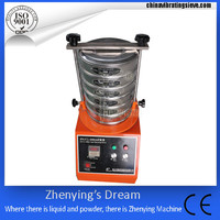 hot sale lab vibrating screening machine for test