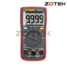 ZT - 109 Auto Manual Range True RMS 9999 Counts Digital Multimeter