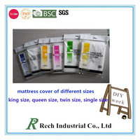 Double size storage or moving LDPE mattress bag