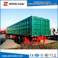 Best price China manufacturer widely used heavy duty strong box trailers