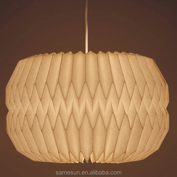Home Lighting Hanging Origami Paper Lampshade