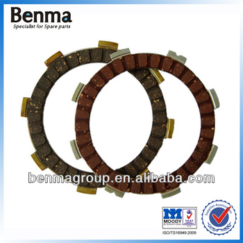 Factory whole sale super quality Motorcycle Clutch plate BJ Boxer 100/ B25-HF BM