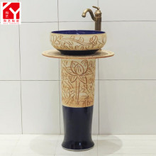 New model color variable glaze ceramic basin lavatory overflow hole cover for modern house design