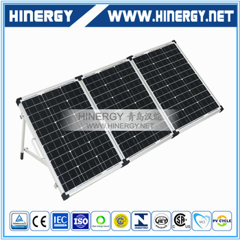 mono solor panel portable solar kits foldable pv modules 60W 90Wp 120W 150Watt 180W 12V foldable solar panel monocrystalline