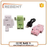 china supplier 4 Ports multi usb hub pore hub