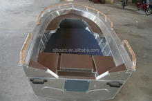 Economic Outboard aluminium boats factory for sale